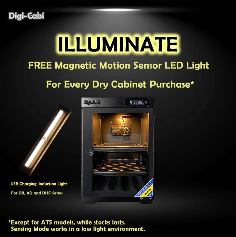 Illuminate Your Dry Cabinet